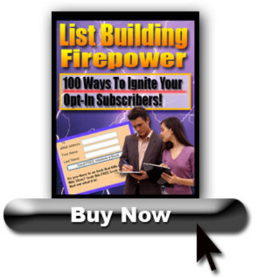 Product picture List Building Firepower - With Resell Rights + Mini Site