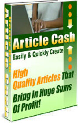 Product picture Article Cash Guide - With 100 Bonus Articles