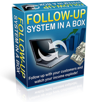 Product picture Follow Up System in A Box - Watch Your Income Explode!