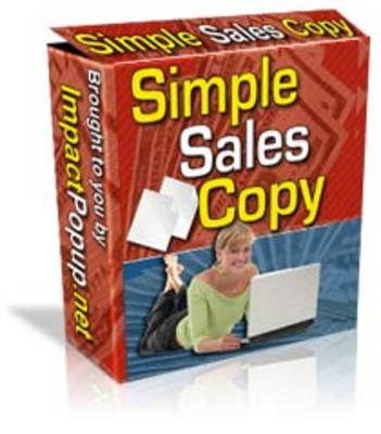 Product picture Simple Sales Copy - Best Copy Writing Software
