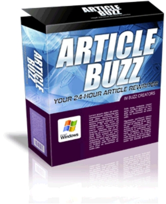 Product picture Article Rewriter Software - Article Buzz